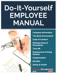 Amazing Do It Yourself Employee Manual