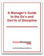 Do's and Don'ts of Discipline