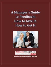 Feedback: How to Give It, How to Get It