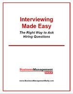 Interviewing Made Easy