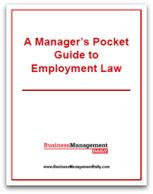 Manager's Pocket Guide to Employment Law