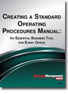 Creating A Standard Operating Procedures Manual